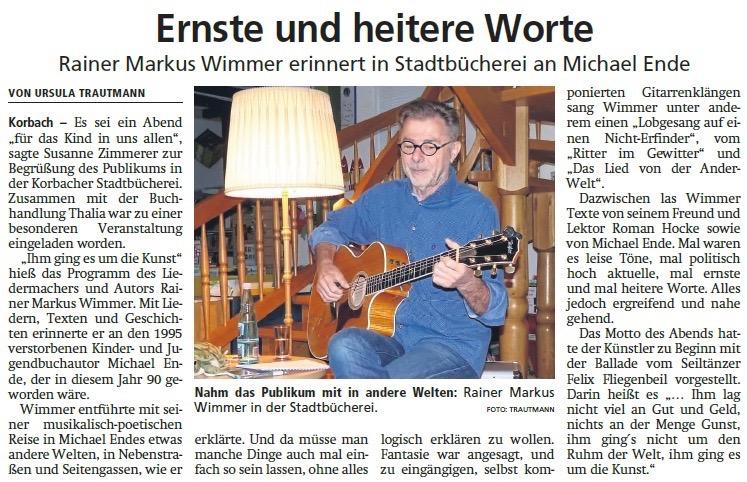12.9.2019 Waldeckische Landeszeitung